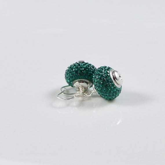 BeCharmed - Emerald Earrings