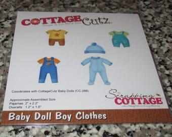 CottageCutz Baby Doll Boy Clothes Die