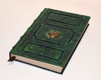 Zelda Majoras Mask Link Book Tome Grimoire Sketchbook journal larp cosplay