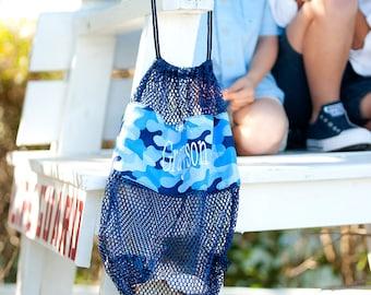 Cool Camo drawstring mesh bag~Drawstring bag~Gym Bag~Toy Bag