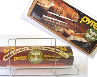 Unused Vintage Pyrex Bake A Round Bread Pan
