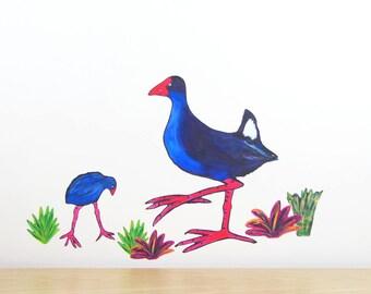 Kiwiana Stickers Etsy - Wall decals nzkiwiana decals