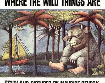Where the Wild Things Are Jewelry Box - Book Jewelry Box  -  Where the Wild Things Are Book Ring Box  -  Where the Wild Things Are Book Box