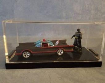 OOAK Custom Hotwheels Batmobile with Batman !