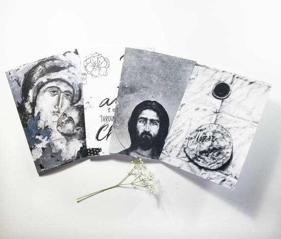 Note card set - set of five 5x7 note cards, greeting cards