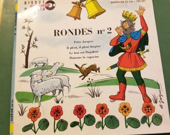 60's Ferer Jacques/ Rondes no2 45 record