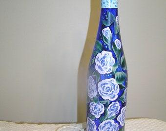 Lighted Bottle - Blue