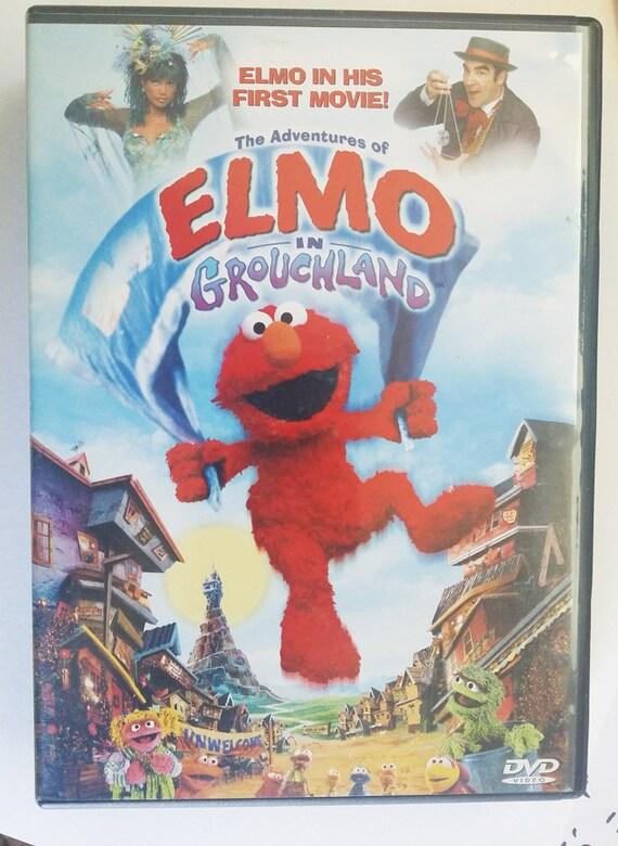 Elmo In Grouchland DVD movie sesame street muppets fullscreen childrens family
