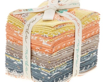 SALE.  Fat Quarter Bundle. Autum Woods by Kate and Biride for Moda