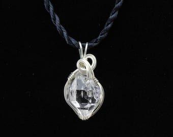 Herkimer Diamond Pendant. Listing 587475043
