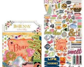 Calendar Girl Die Cuts Embellishment Set Planner Scrapbooking - 35pc