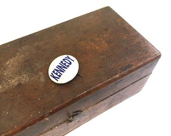 Vintage Kennedy pin~ Political Memorabilia ~ John F Kennedy campaign pin