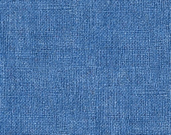 Looks like Burlap but it is soft cotton fabric Blue
