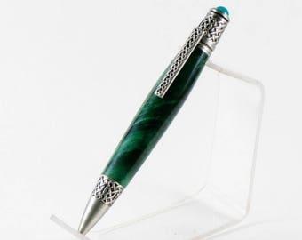 Celtic Buckeye Burl Pen
