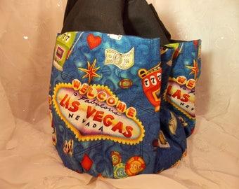 Las Vegas Bingo Bag~Multi Pocket Gadget Bag-Vegas Gadget Bag