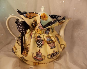 Insulated Tea Cozy~Mary Englebright Teapot Cozy~6 Cup Teapot Cozy