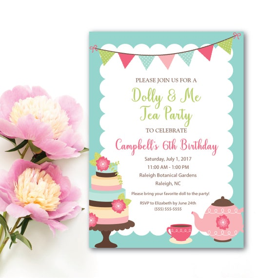 Tea party invitation dolly and me tea party invitation little il570xn filmwisefo