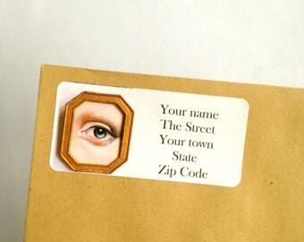 Lovers Eye Return Address Labels stickers to personalise your stationary