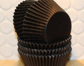 Black Cupcake Liners (Qty 45) Black Baking Cups, Black Muffin Cups, Cupcake Liners, Baking Cups, Muffin Cups, Cupcake Liners, Baking Cups