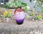 Dusk Vase, Shades of Purp...