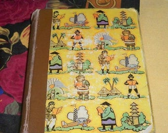 SALE Pinnocchio Childrens Book, Copyright 1930,C, Collodi, Carlo Lorenzini