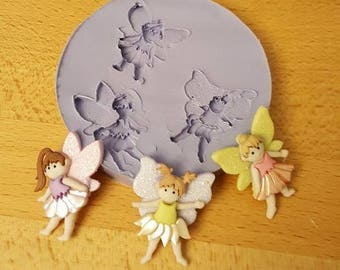Fairy Trio Silicone Mold