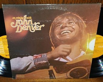 An Evening With John Denver Vintage Vinyl Double Album