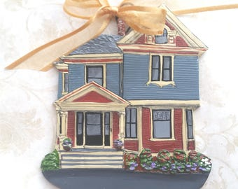 Custom listing for GhoshHunter.- one Custom House Ornament