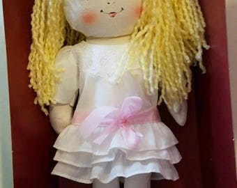 super sale vintage rag doll