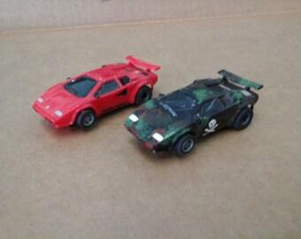 Tyco Lamborghini HO Scale Slot Cars