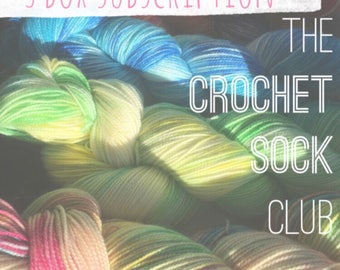 The Crochet Sock Club : 3 Box Subscription