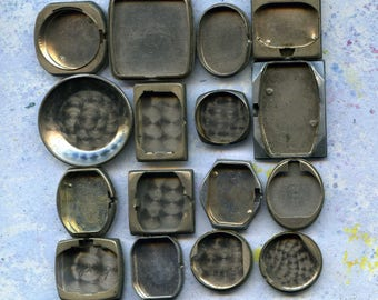 One SET of choice, set of 16 vintage watch parts, steampunk, cool vintage, best prices, 16/1