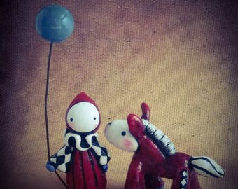 Big Top Poppet and Foppet