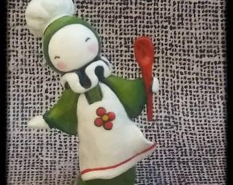 Kitchen Poppet - Lisa Snellings