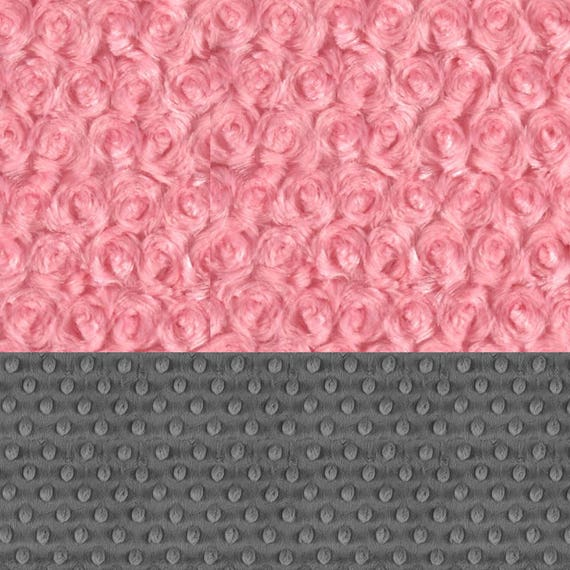 Pink Baby Blanket Girl, Minky Baby Lovey Blanket, Personalized Baby Mini Blanket, Swirl Gray Baby Girl Lovey, Mini Baby Blanket, Baby Gift