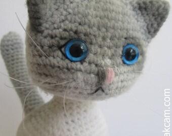 Amigurumi Jointed Cat