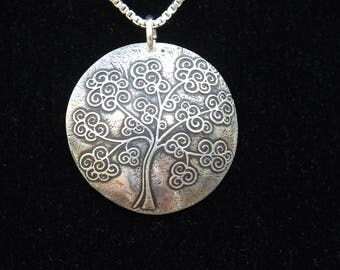 Tree of Life necklace, Tree of Life jewelry, Curly Tree of Life, Gifts for her, Gift for Mom, gift for daughter, Necklace for Sister