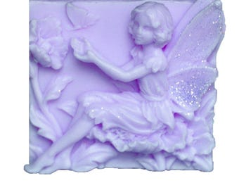 Lavender Soaps - Organic Soaps - Decorative Soaps  - Soaps -  Glycerin Soaps  - Fairy Soaps  -  Moisturizing Soaps - Essential Oil Lavender