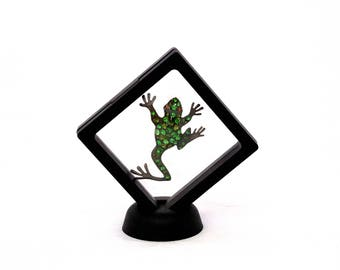 3D See Thru Suspension Display 3 1/4 Inch By 3 1/4 Inch Black