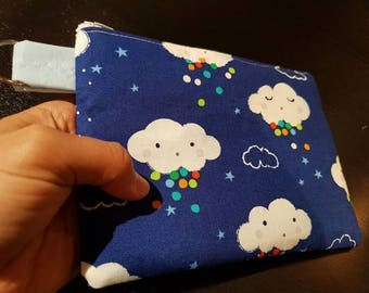 Cute Clouds Handbag /Cosmetic Bag