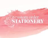 Custom Order - Alison Cushnie