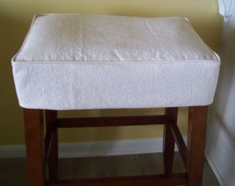Slipcovers For Bar Stools Bench Amp Ottomans By Applecatdesigns