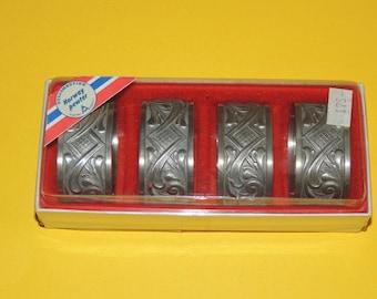 Pewter Napkin Rings Made in Norway