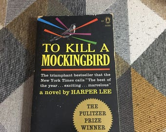 Vintage 1962 To Kill A Mockingbird Harper Lee Book