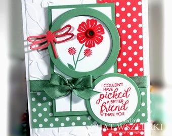 Friendship Card- Stampin' Up' A Friend Like you