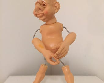 DORF ELF DOLL, Bend Me, Pose Me, Any Way You Want To! at A Vintage Revolution