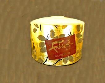 Vintage Bath Powder, Faberge Woodhue Dusting Powder, Bath and Beauty, Ladies Fragrance, Womens Fragrance, Perfume Powder, Faberge Fragrance
