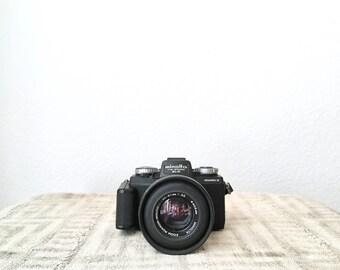 Vintage Minolta Mark II 110 Zoom SLR Camera