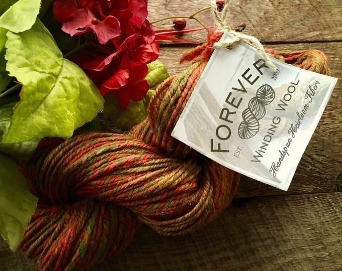 Yarn handspun - Autumn worsted weight yarn