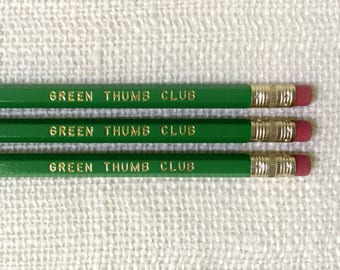 Pencil Set - Green Thumb Club
